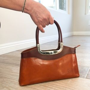 Bags - BRAND NEW Genuine Leather Brown Bag made in Italy
